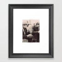 ♡ The Depression lives on ♡ Framed Art Print