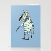 Zebra Dude Stationery Cards