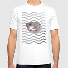 Pescadilla Mens Fitted Tee White SMALL