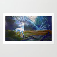 Forest Spirit II Art Print