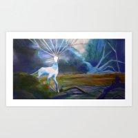 Forest Spirit II Art Print
