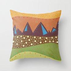 Color/Landscape 8 Throw Pillow