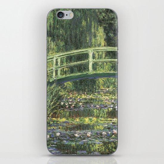 Vintage Monet Bridge  iPhone & iPod Skin