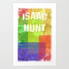 Isaac Art Print