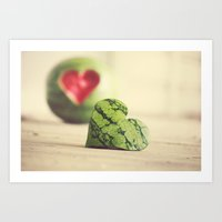 Eat Your Heart Out Art Print