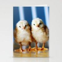 buckeye chicks Stationery Cards