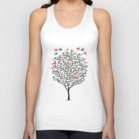 Out On a Lark Unisex Tank Top