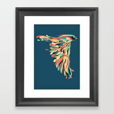 Downstroke Framed Art Print