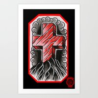 cross of ages Art Print