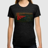 lust Womens Fitted Tee Tri-Black SMALL