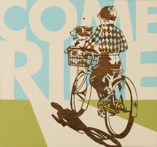 Come Ride Art Print