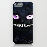 iPhone Cases featuring CHESHIRE by Julien Kaltnecker