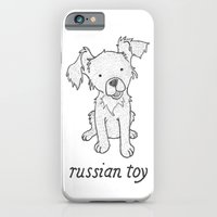 Dog Breeds: Russian Short Haired Terrier iPhone 6 Slim Case