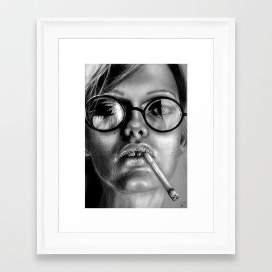 +Somewhat Damaged+ Framed Art Print