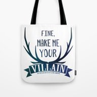 Fine, Make Me Your Villa… Tote Bag