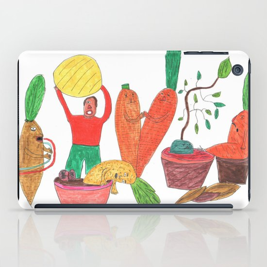 Vegetables Party. iPad Case
