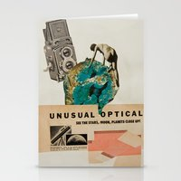 Unusual Optical  Stationery Cards