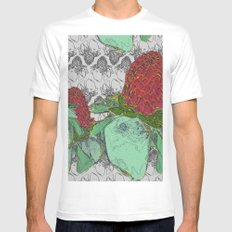 Etlingera Elatior Mens Fitted Tee White SMALL