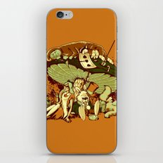 STONED IN WONDERLAND [REMIX] iPhone & iPod Skin