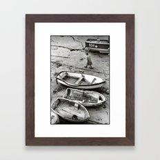 Against the Tide Framed Art Print