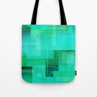 Green Ocean Tote Bag
