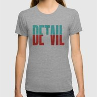 T-shirt featuring Devil In The Detail. by David
