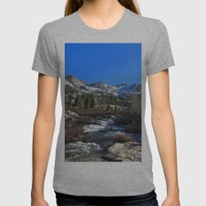Lamoille Canyon Womens Fitted Tee Athletic Grey SMALL