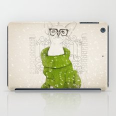 Hipster Chiuaua iPad Case