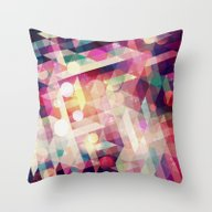Moon Star Throw Pillow