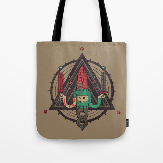 He, with the peculiar voice Tote Bag