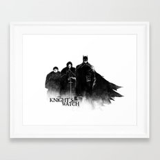 The Knight's Watch Framed Art Print