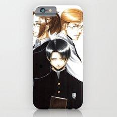 OriSor Shingeki No Kyojin High School Fanart by Mistiqarts iPhone 6 Slim Case