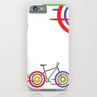 bike iPhone & iPod Cases featuring Bike! by Alice Wieckowska