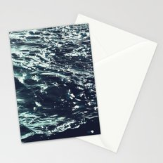 dark waters Stationery Cards