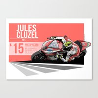Jules Cluzel - 2015 Phil… Canvas Print