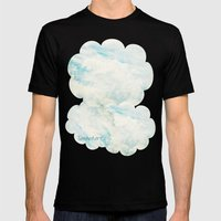 Somewhere | Beautiful Fl… Mens Fitted Tee Black SMALL