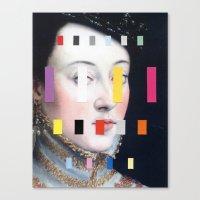 Portrait With A Spectrum… Canvas Print