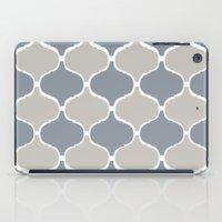 MARRAKECH PATTERN GreyBlue iPad Case
