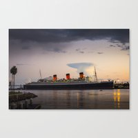 Queen Mary Canvas Print