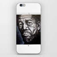 Morgan Freeman iPhone & iPod Skin