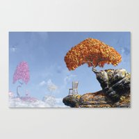 Leaf Peepers Canvas Print
