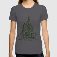 Melo The Explorer III, O… Womens Fitted Tee Asphalt SMALL