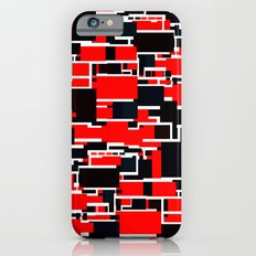 Black and Red iPhone 6 Slim Case
