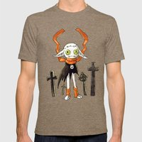 Rag Doll 2 Mens Fitted Tee Tri-Coffee SMALL
