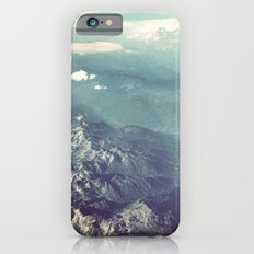 Aerial View of the French Alps iPhone 6 Slim Case