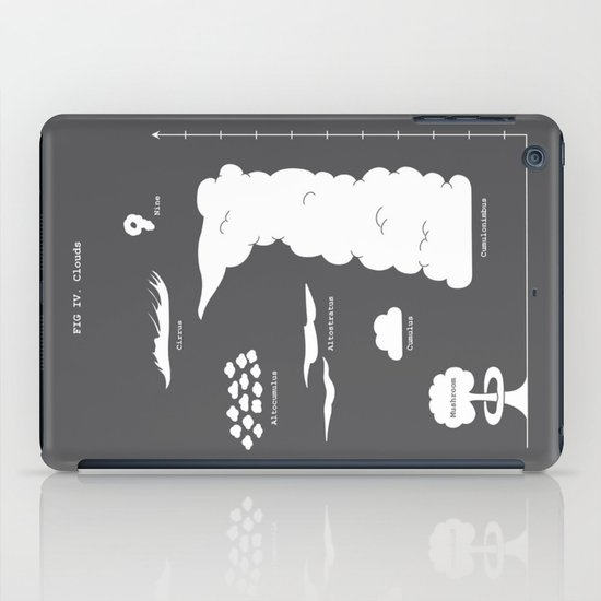 Know your clouds! iPad Case
