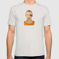 Bruised Thug Mens Fitted Tee Silver SMALL