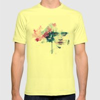 garden in the ceiling Mens Fitted Tee Lemon SMALL