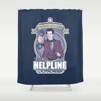 The Bells of Saint John Shower Curtain
