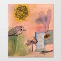Mushroom Eater Canvas Print